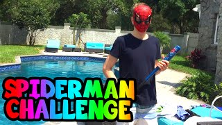 Spiderman Piñata Challenge!