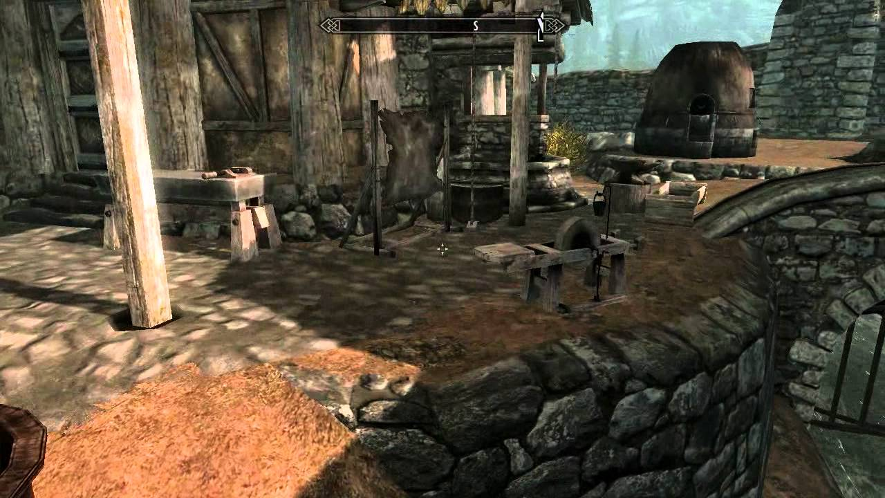 TESV: Skyrim - Easy Location of a Smelter
