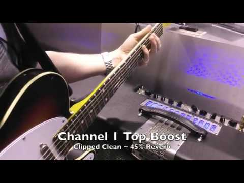 NAMM Jam 2011 ~ TransAtlantic TA-30 Combos and Heads