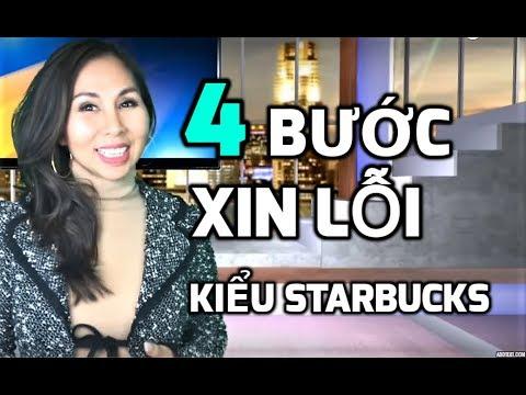 CÁCH XIN LỖI TẠO LÒNG TIN KIỂU STARBUCKS I LanBercu TV