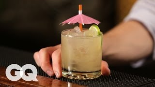 How To Make A Traditionally Tiki Mai Tai With Gq & The Clover Club's Tom Macy