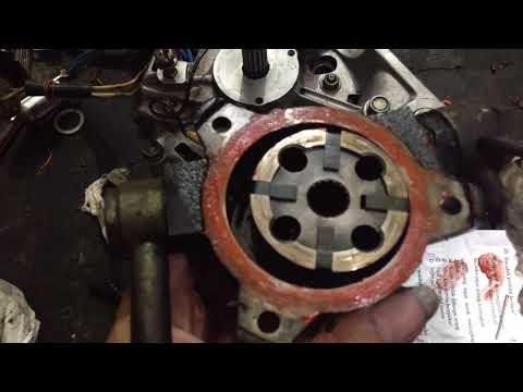 Alternator repair DIY: rebuilding vacuum pump … Isuzu Panther (C223)