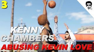 NBA LIVE 18 - RISE OF KENNY CHAMBERS   ABUSING KEVIN LOVE AT VENICE BEACH