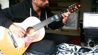 The Godfather Theme Acoustic Guitar - Крестный отец на гитаре