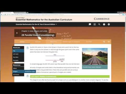 How to use widgets: Interactive animations in class
