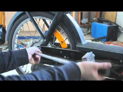 Videoguida Ciao Piaggio - come smontare la ruota posteriore