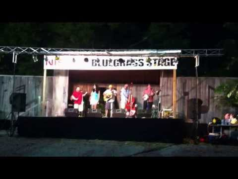 """Union County Line performing """"Old Man in the Park"""""""