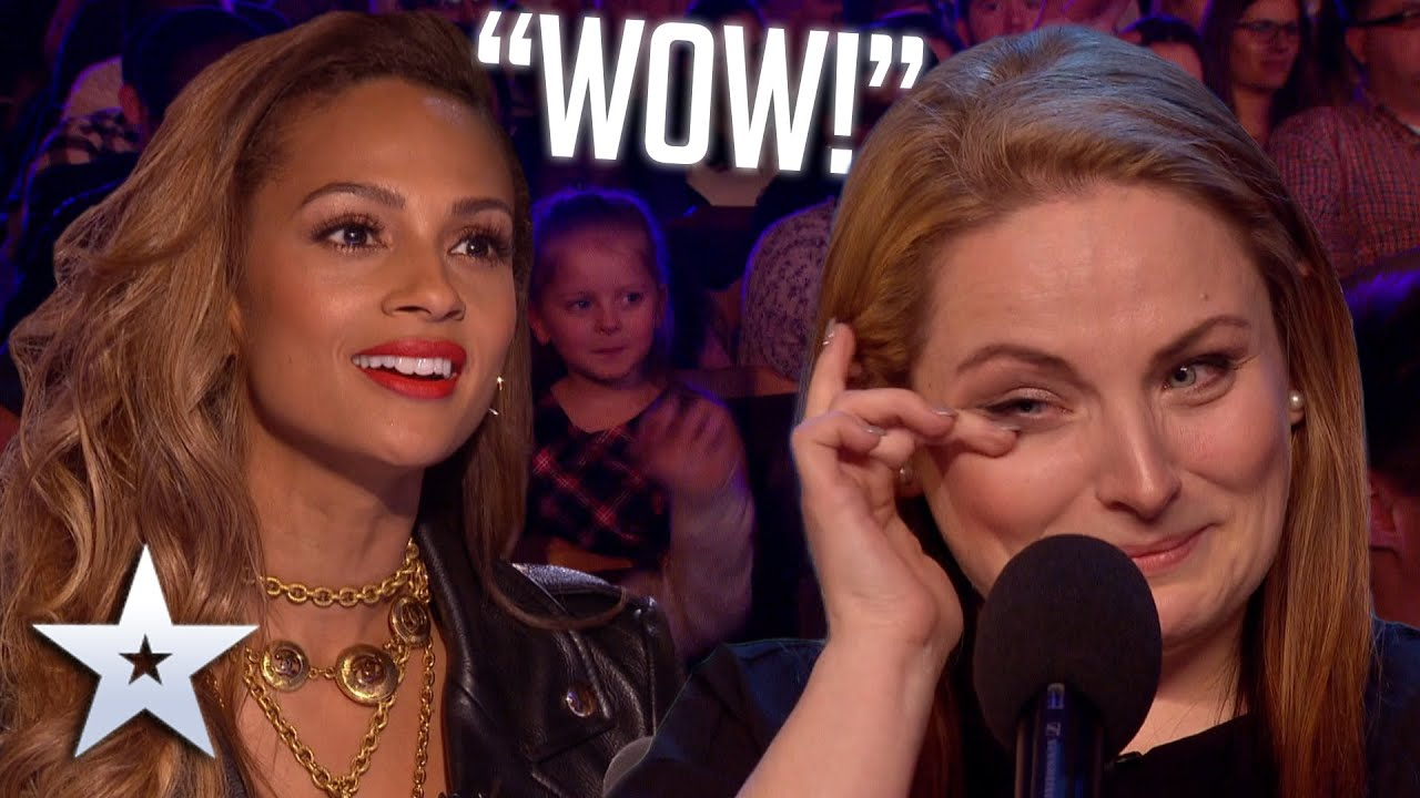 Download Mum of five WOWS with voice from a DIFFERENT ERA! | Auditions | BGT Series 9