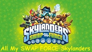 All ingame Skylanders - SWAP Force [PS4]