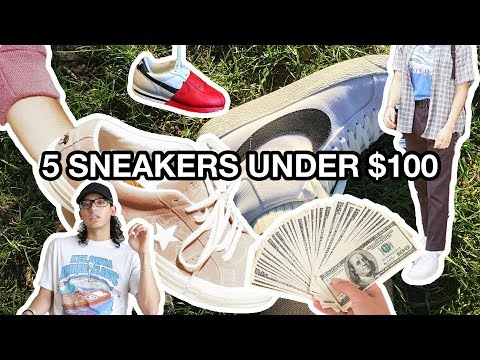 Download Youtube: TOP 5 White Sneakers UNDER $100