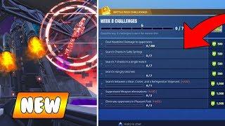 NEW Season 4 Ending REVEALED - Fortnite Week 8 Challenges! (Fortnite Battle Royale)