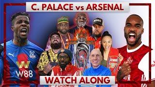 Crystal Palace vs Arsenal | Watch Along Live