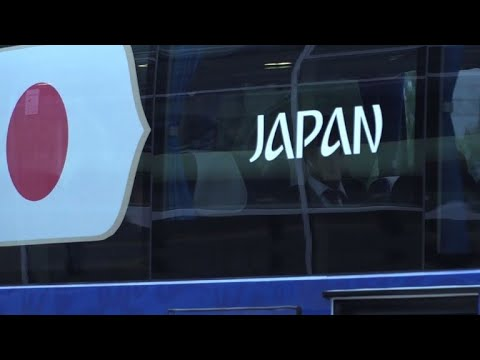 World Cup 2018: Japan arrive in Russia