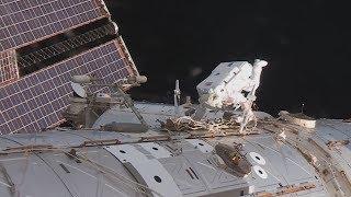 Новости МКС: 23-30 мая | Внезапный выход в открытый космос!