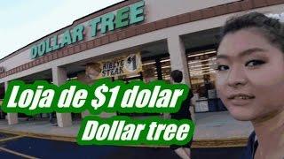 EUA Loja de $1 dolar DOLLAR TREE TUDO POR UM DOLAR !!!