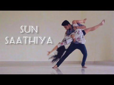 ABCD2-Sun Saathiya | Tejasman Talukdar & Arpita Dutta | Dance Cover