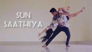 ABCD2 - Sun Saathiya | Dance Cover | Tejasman Talukdar & Arpita Dutta