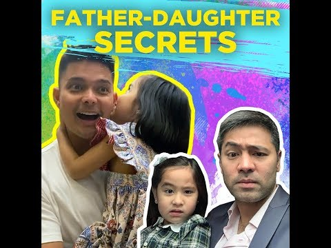 Father daughter secrets - KAMI - Dingdong Dantes was captured while having a sweet daddy - 동영상