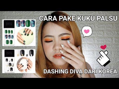 REVIEW DAN CARA PAKAI KUKU PALSU Dashing Diva Dari Korea !