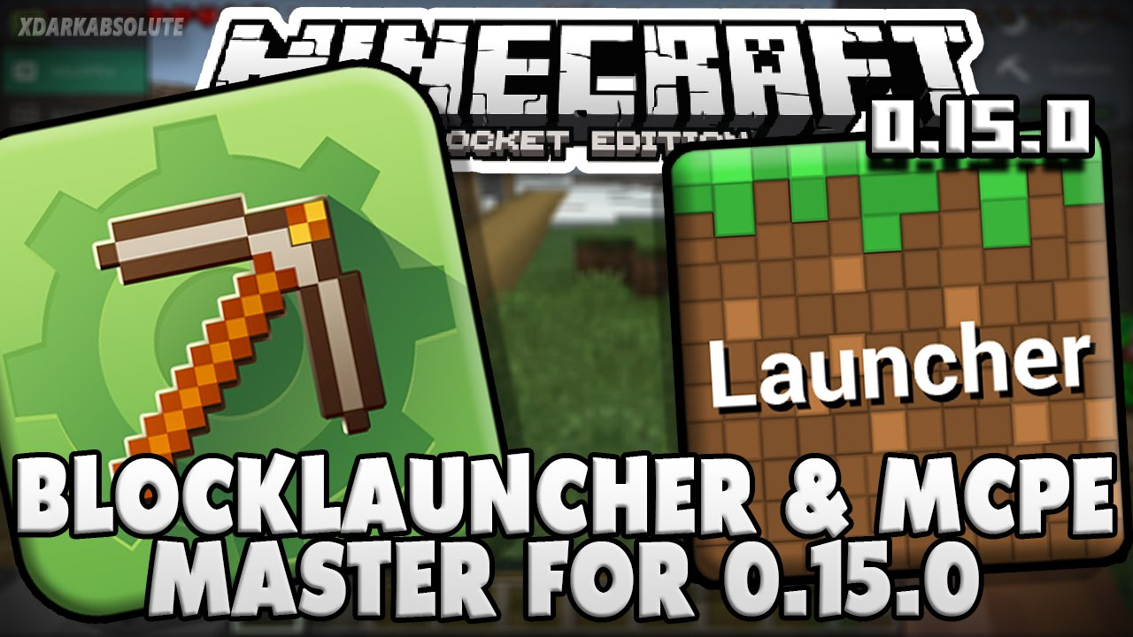 Minecraft PE 0 15 0 - BlockLauncher & MCPE Master Enabled for Beta (Pocket  Edition)