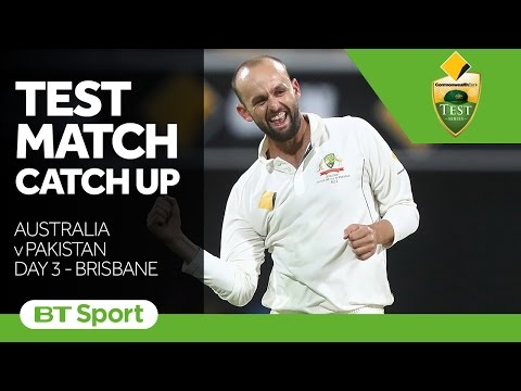 Australia vs Pakistan  First Test  Day Three Highlights   Test Match Catch Up New Flash Game
