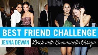 BEST FRIEND CHALLENGE | Jenna Dewan