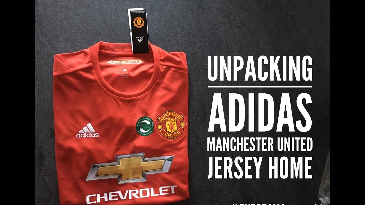 Adidas Manchester United Jersey Home Kit | UNPACKING | Season 2016/17 | HD