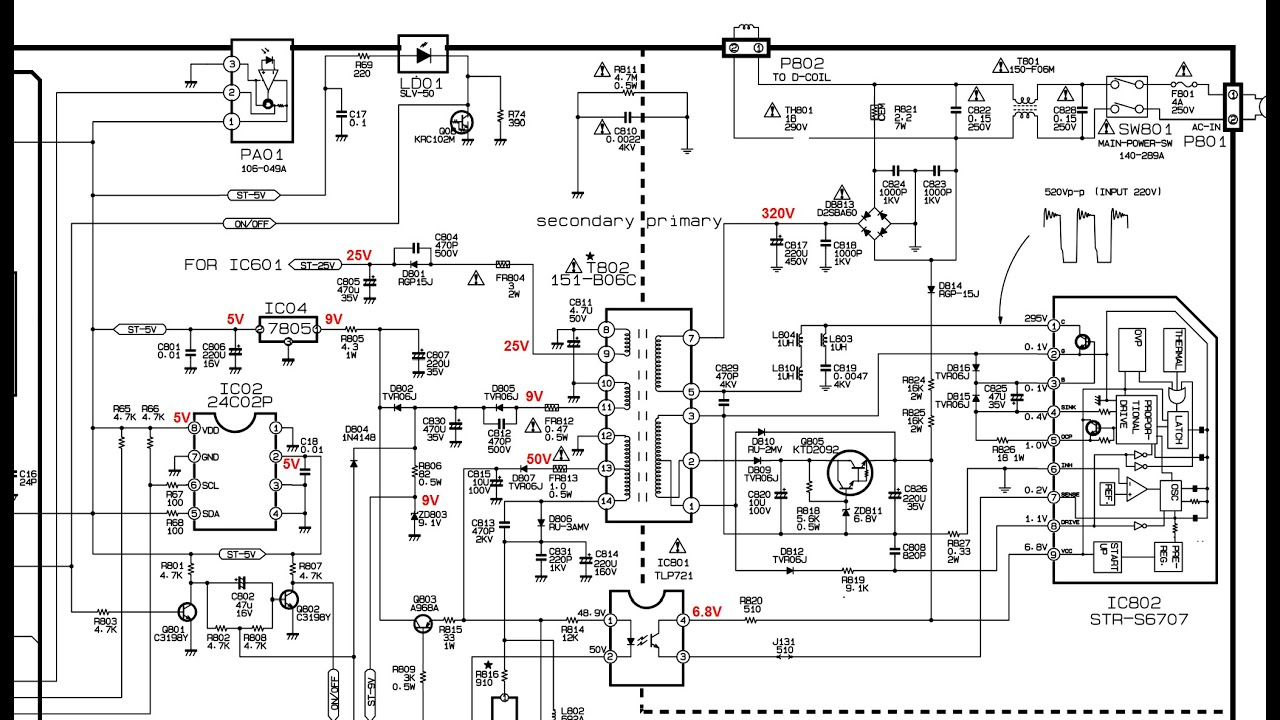 Lg Color Tv Circuit Diagram Explanation