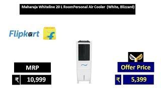 Maharaja Whiteline 20 L RoomPersonal Air Cooler  (White, Blizzard)