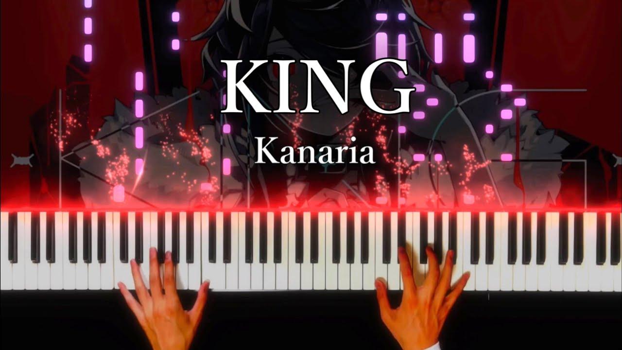 【GUMI】KING - Kanaria|Piano cover