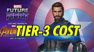 Captain America Tier-3 Advancement Material Cost - MARVEL Future Fight