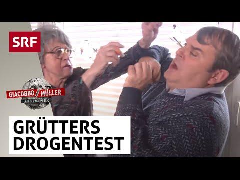 Grütters Drogentest - Giacobbo/Müller