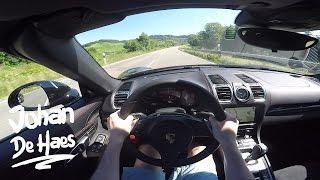 Porsche Boxster GTS 330hp POV test drive GoPro