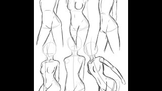 Tips for Drawing: Body Shape [Woman]