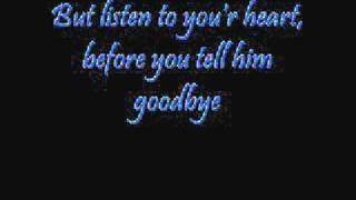 Roxette - Listen to your heart (lyrics)