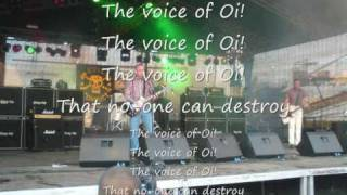 Evil Conduct - The voice of Oi (mit Text)