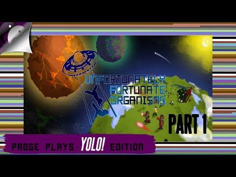 Padge Plays! YOLO Edition - UFO: Unfortunately Fortunate Organisms  (2017 - Rebourne Studios) Part 1