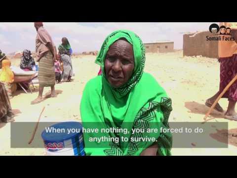 Somali Faces Drought Relief Campaign