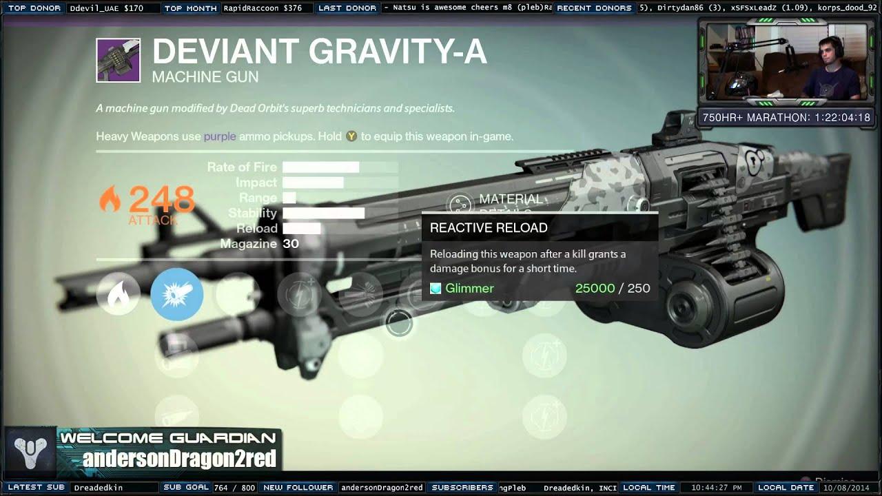 destiny machine gun