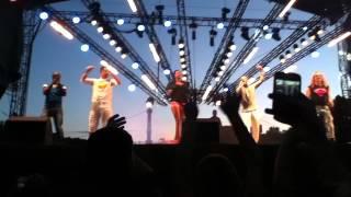 NRJ MUSIC TOUR BORDEAUX - Collectif Métissé - Z Dance. 01/08/2012