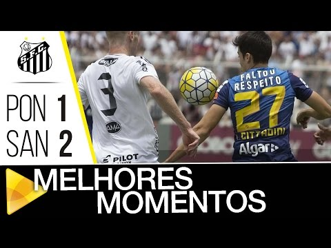 Ponte Preta 1 x 2 Santos | MELHORES MOMENTOS | Brasileirão (06/11/16)