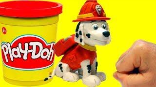 Marshall Paw Patrol Stop Motion Play Doh claymation plastilina Patrulla canina