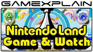 Nintendo Land - Game & Watch (Video Preview - Footage of all 12 Games!)