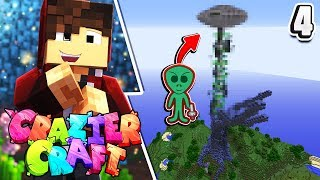 Minecraft: CrazierCraft Ep 4! - Alien Invasion... (Tree = Destroyed!)