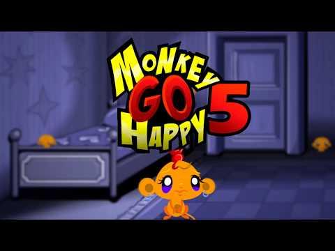 """Игра """"Счастливая Обезьянка 5"""" (Monkey GO Happy 5) - прохождение"""