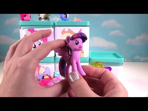 Thumbnail: My Little Pony MLP Mane 6 Toy Surprise Blind Boxes! Fashems & Blind Bags!