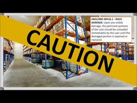 Warehouse Rack Safety Standards | Total Warehouse Tutorials With REB