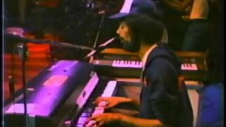 Gil Scott-Heron  at No Nukes Concert  with Midnight Band