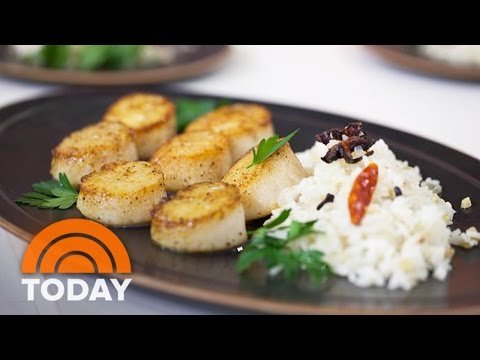 Padma Lakshmi Spices Up The TODAY Kitchen With Pan-Roasted Scallops | TODAY
