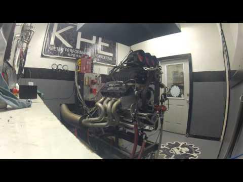 KPE - Blown 532 Engine Dyno - PSI blower 2100+hp!